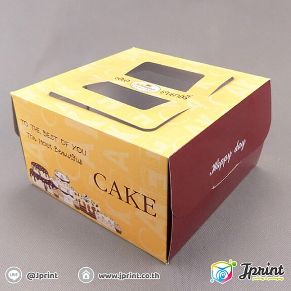 กล่องใส่เค้ก